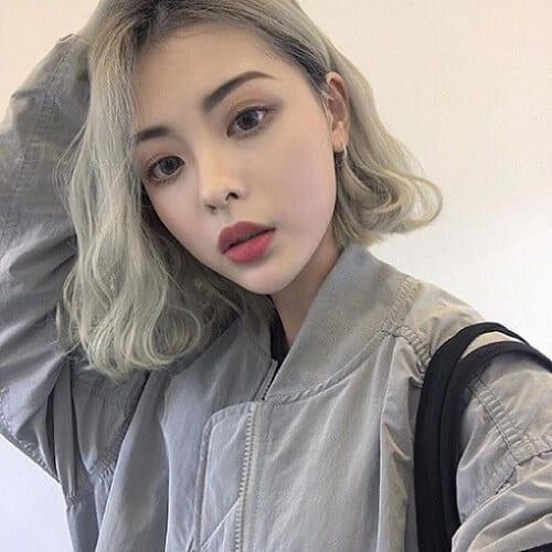 Kiểu tóc ngắn xoăn nhẹ 2021 - Ảnh 18