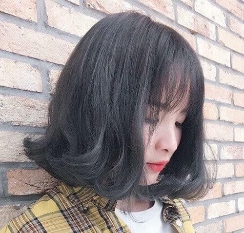 Kiểu tóc ngắn xoăn nhẹ 2021 - Ảnh 8