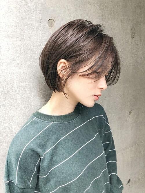 Kiểu tóc tém cho khuôn mặt tròn