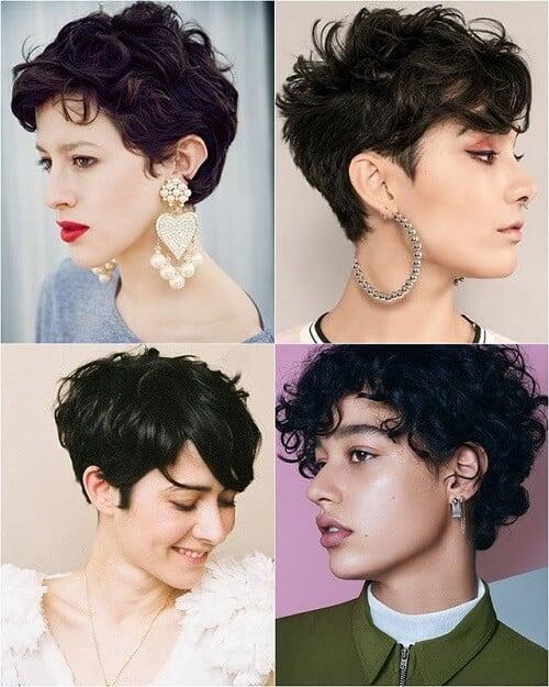 Tóc tém xoăn giúp tạo độ bồng bềnh gợi cảm cho mái tóc
