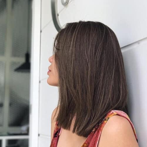 Màu tóc highlight ngược