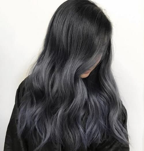 Tóc màu xám đen - Ảnh 2