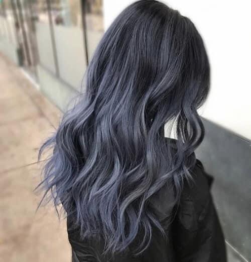 Tóc màu xám đen - Ảnh 3