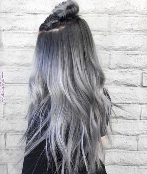 Tóc màu xám lông chuột - Ảnh 1