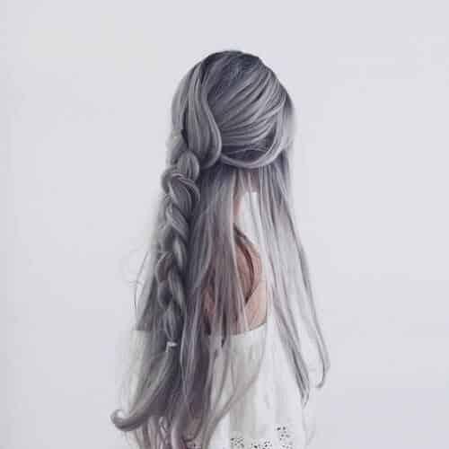 Tóc màu xám lông chuột - Ảnh 3