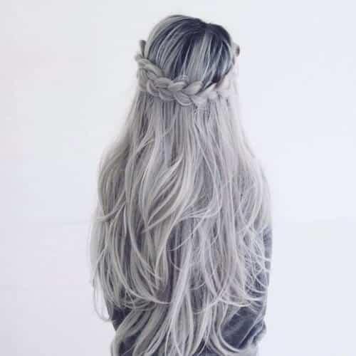 Tóc màu xám lông chuột - Ảnh 4