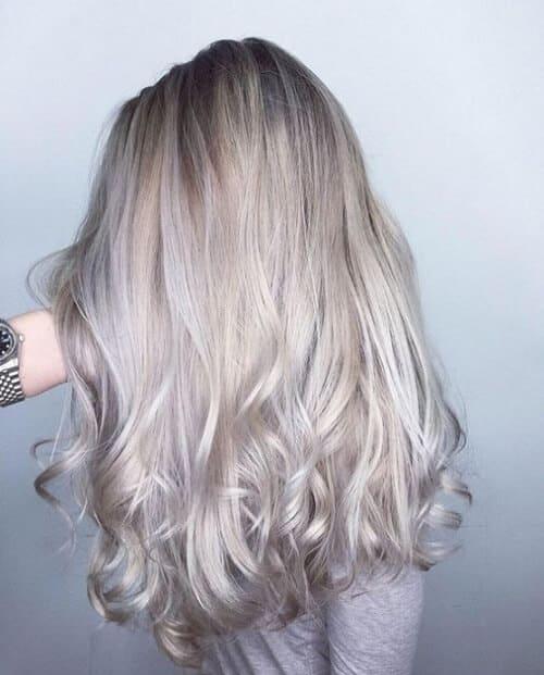 Tóc màu xám bạc - Ảnh 1