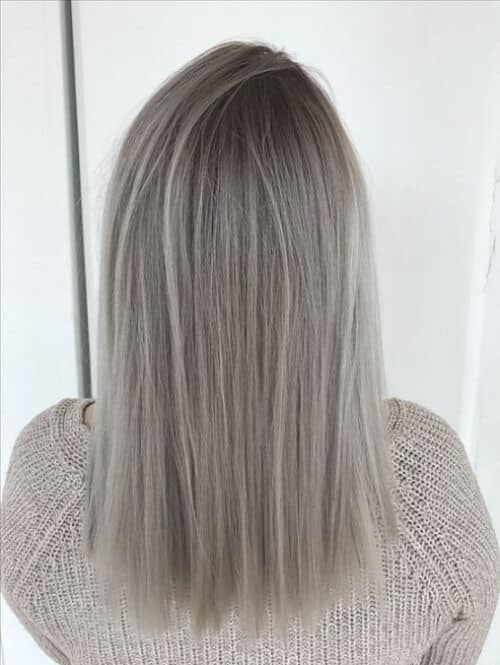 Tóc màu xám bạc - Ảnh 2