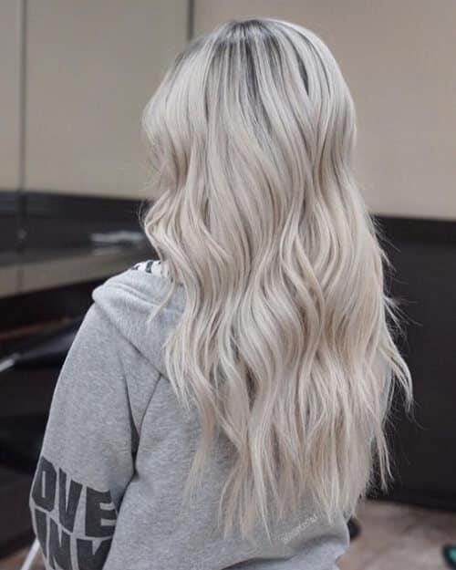 Tóc màu xám bạc - Ảnh 3