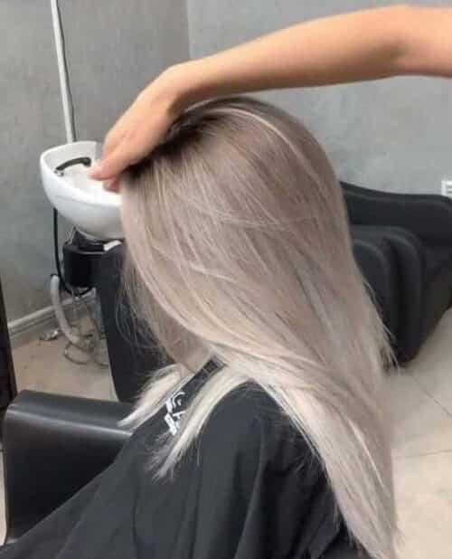 Tóc màu xám bạc - Ảnh 4