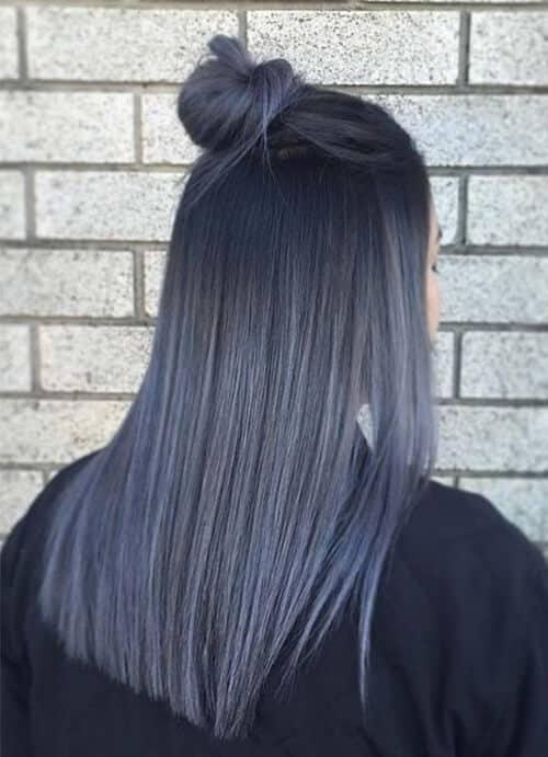 Tóc màu xám rêu - Ảnh 2