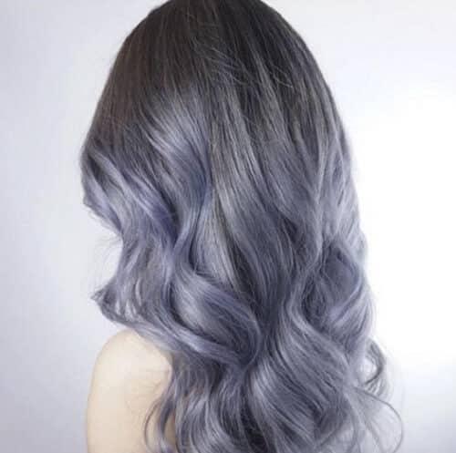 Tóc màu xám rêu - Ảnh 4