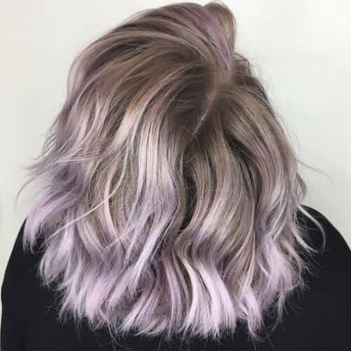 Tóc màu xám nâu - Ảnh 1