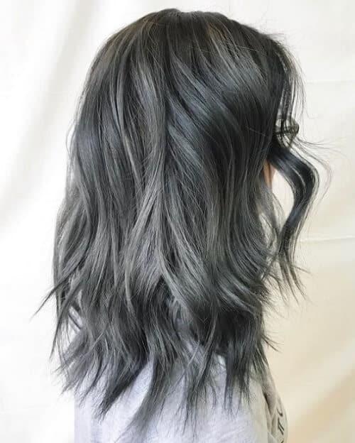 Tóc màu xám chì - Ảnh 1