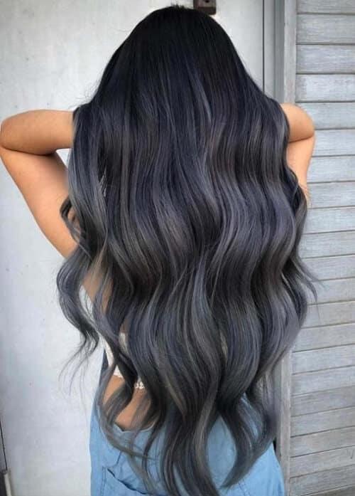 Tóc màu xám chì - Ảnh 3