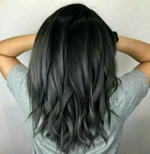 Tóc màu xám chì - Ảnh 4
