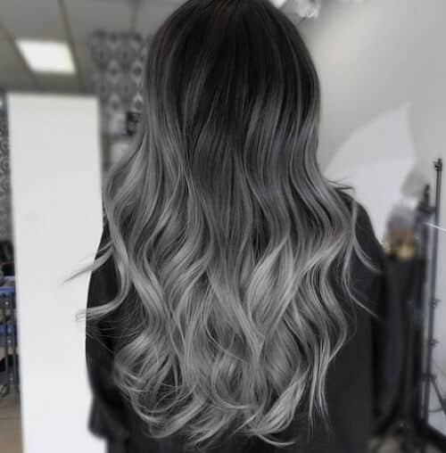 Tóc màu xám tro - Ảnh 1
