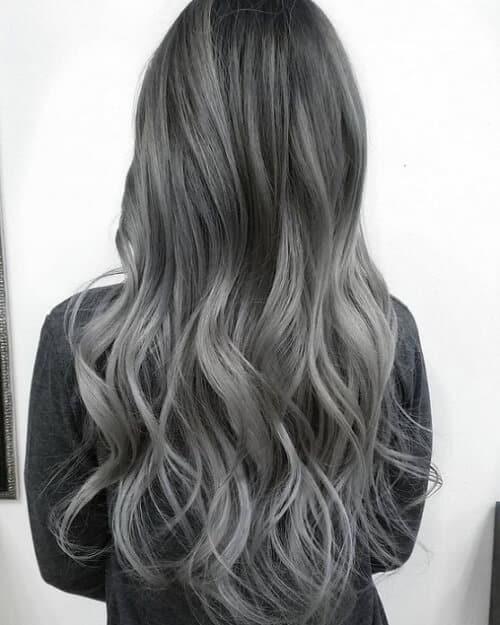 Tóc màu xám tro - Ảnh 2
