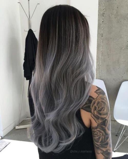 Tóc màu xám tro - Ảnh 4