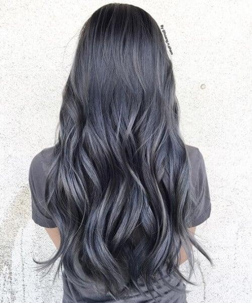 Tóc màu xám đen - Ảnh 1