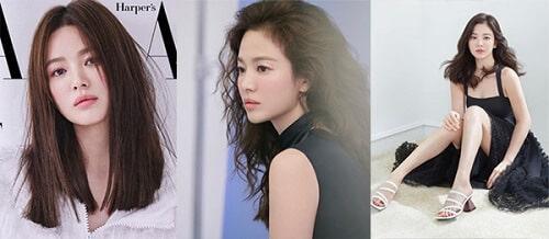Tóc đẹp Song Hye Kyo