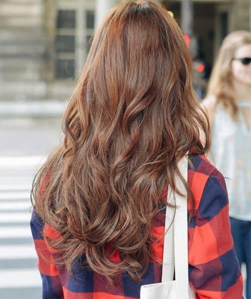 Tóc đẹp xoăn lơi
