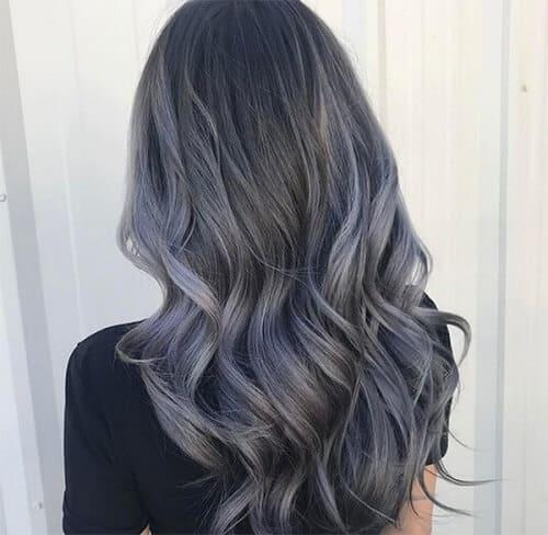 Tóc màu than chì là màu như thế nào?
