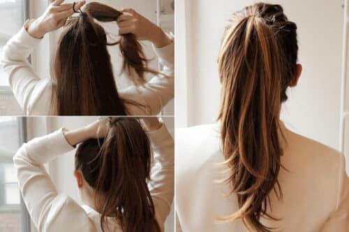 Thắt dây buộc tóc đuôi ngựa