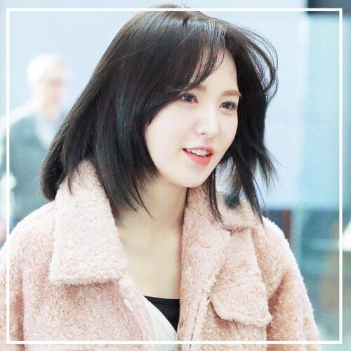 Tóc tỉa layer mặt tròn Hàn Quốc