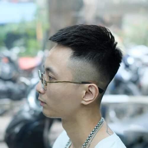 Kiểu tóc crop textured
